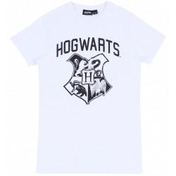 Biała koszulka Hogwarts HARRY POTTER