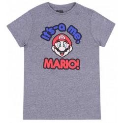 Melanżowa koszulka Super Mario