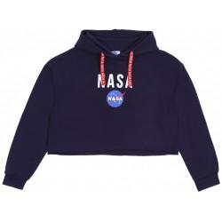 Granatowa bluza NASA