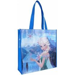 Niebieska torba na zakupy Elsa Kraina Lodu DISNEY