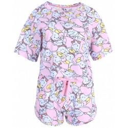 Różowa piżama Dumbo DISNEY
