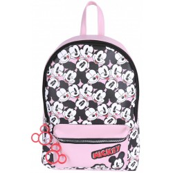 Różowy plecak Myszka Mickey DISNEY