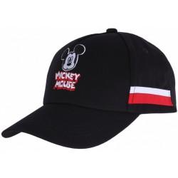 Czarna czapka z daszkiem Myszka Mickey DISNEY