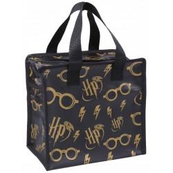 Mała, czarna torba wielokrotnego użytku Harry Potter