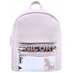Różowo-srebrny plecak UNIKORN