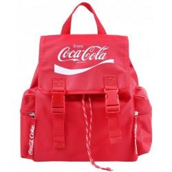 Czerwony plecak Coca-Cola