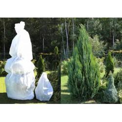 Biały rękaw ochronny na rośliny 1,60x5m