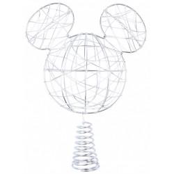 Ozdobny, metalowy szpic na choinkę Myszka Mickey