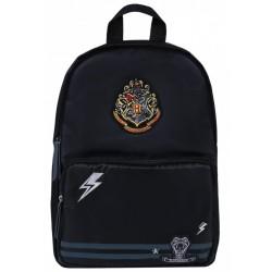 Czarno-grafitowy plecak Harry Potter