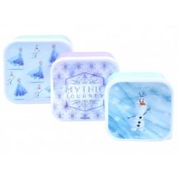 3x Pudełko śniadaniowe Frozen Disney