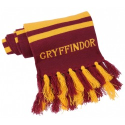 Burgundowo-żółty szalik GRYFFINDOR Harry Potter
