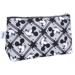 Szara kosmetyczka w gwiazdki Myszka Mickey