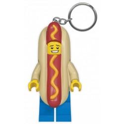 Brelok do kluczy z latarką Iconic Hot Dog LEGO