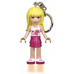Brelok do kluczy z latarką Stephanie LEGO FRIENDS