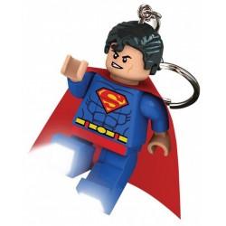 Brelok do kluczy z latarką Superman LEGO