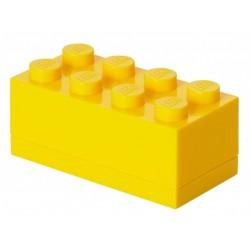 Żółte minipudełko klocek 8 LEGO