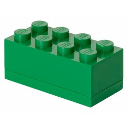Zielone minipudełko klocek 8 LEGO