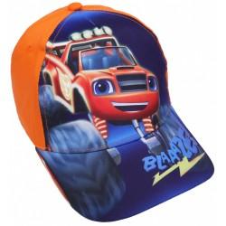 Pomarańczowa czapka z daszkiem BLAZE NICKELODEON