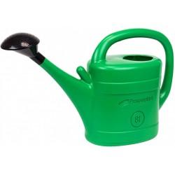 Zielona konewka z sitkiem 8 l