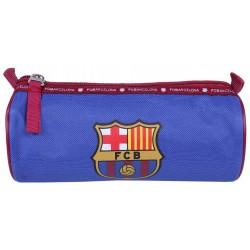 Niebieski piórnik tuba FC Barcelona
