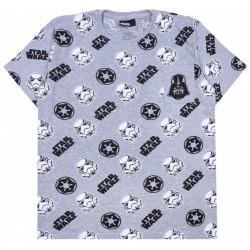 Męski,szary t-shirt,koszulka Star Wars