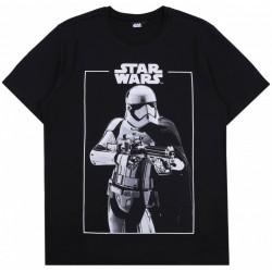 Czarny,męski t-shirt,koszulka Szturmowiec-Star Wars