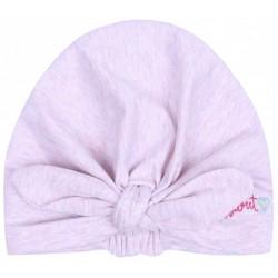 Różowa-melanżowa czapeczka dla dziewczynek