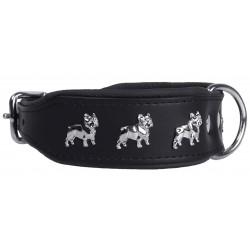 Black Collar French Bulldog 45 cm