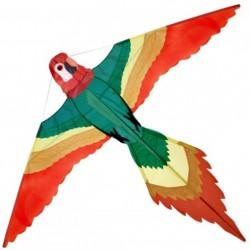Kolorowy latawiec jednolinkowy PAPUGA