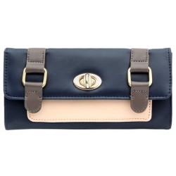 Navy women's wallet