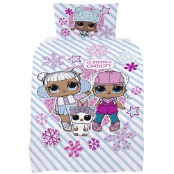 Childrens Double-sided Duvet Cover L.O.L 137x198