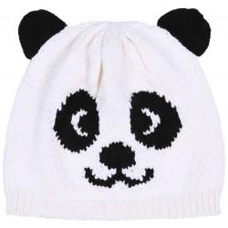 Kremowa czapka Panda PRIMARK ATMOSPHERE