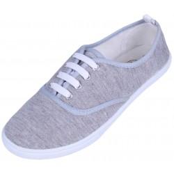 Basic grey melange trainers