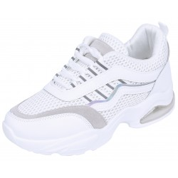 Womans' White Sneakers VICES