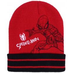 Czerwono-czarna  czapka Spider-man MARVEL