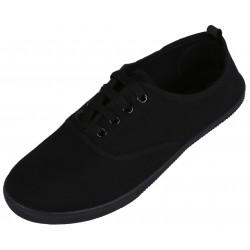 Basic black trainers
