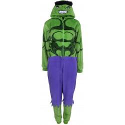Zielono-fioletowa piżama jednoczęściowa HULK Marvel