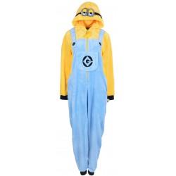 Żółto-niebieska piżama jednoczęściowa Minionki: Wejście Gru