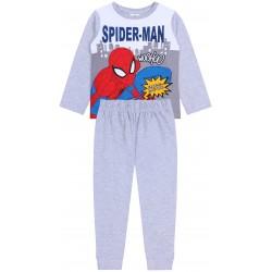 Szara, chłopięca piżama Spiderman MARVEL