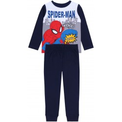 Granatowa, chłopięca piżama Spiderman MARVEL