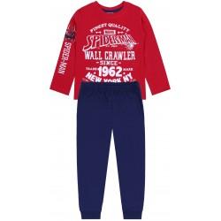 Czerwono-granatowa piżama Spiderman MARVEL