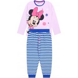 Różowa piżama dziewczęca w paski Myszka Minnie DISNEY