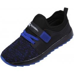 Czarno-niebieskie buty sportowe PlayStation