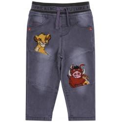 Szara jeansy na gumce Timon i Pumba DISNEY
