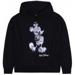 Czarna bluza z kapturem Myszka Miki