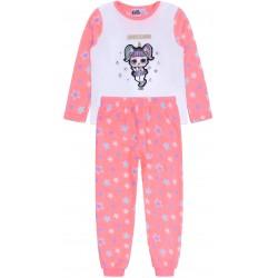 Różowa piżamka w gwiazdki LOL