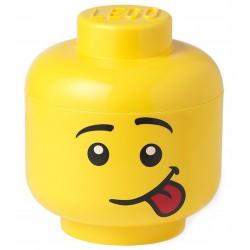 Pojemnik duża głowa LEGO - chłopiec (Głuptasek)