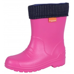 Pink Cosy Wellies Wellingtons for Children DINO F2 Demar