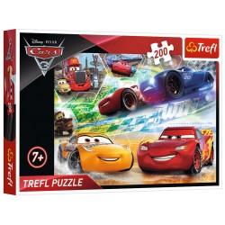 Puzzle Droga do zwycięstwa - Auta 3 Disney 200 elementów TREFL