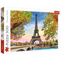 Puzzle 500 elementów-Romantyczny Paryż TREFL